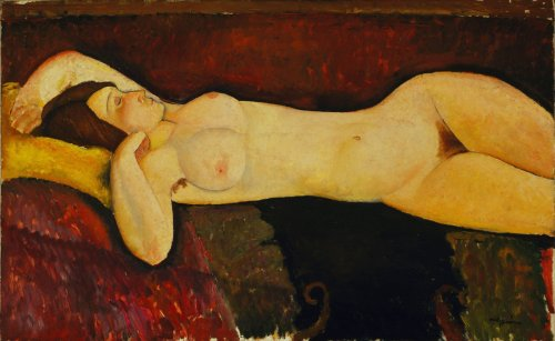 Desnudo acostado-Modigliani