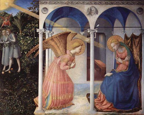 Fra Angelico - La anunciacion (1430)