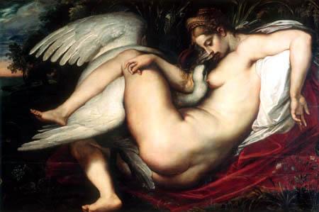 Peter Paul Rubens. Leda y el cisne. 1599