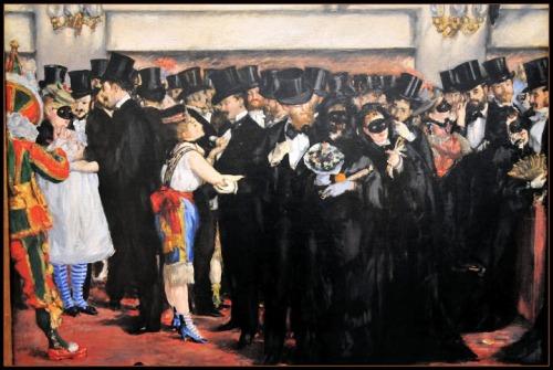 Edouard Manet - Baile de máscaras en la ópera