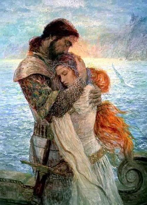 Tristán e Isolda de Marc Fishman