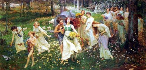Charles Daniel Ward - L'avanzare della Primavera, 1905