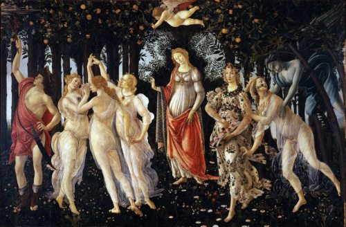 Sandro Botticelli, Primavera, 1482