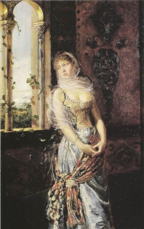 Fabio Fabbi ( Italian Painter, 1861-1946)