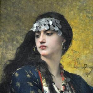 Fatima (1883) Jules Joseph Lefebvre.