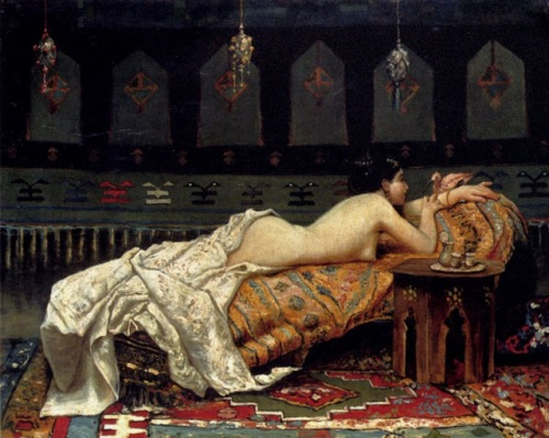 Francesco Paolo Michetti (İtalian, 1851-1929) – Odalisque