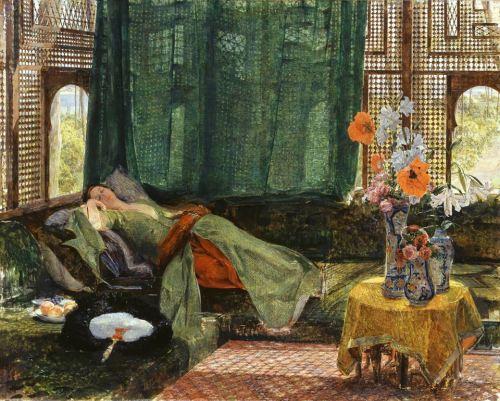 John Frederick Lewis - The Siesta (1876)