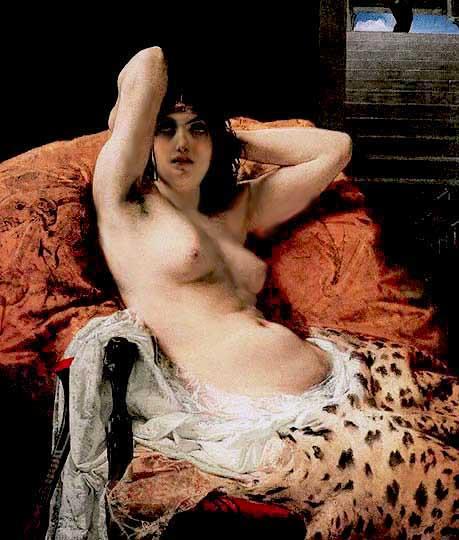 Mosé Bianchi, nacido en Monza, Italia, 1840–1904.