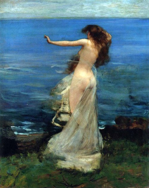 Ariadne - John Lavery (1886)