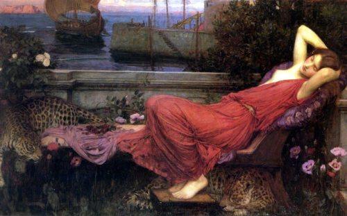 Ariadne, John William Waterhouse (1898),