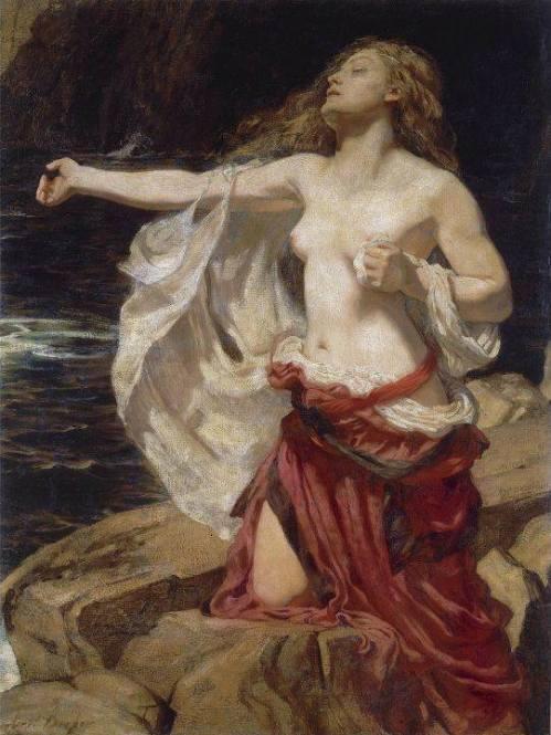 Herbert James Draper (1863-1920) - Arianna