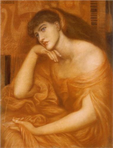 Penelope, 1869 Dante Gabriel Rossetti