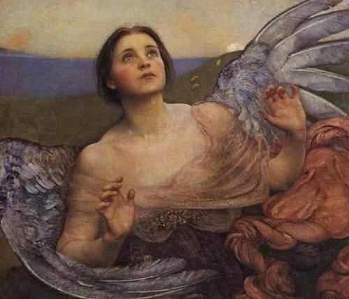 Annie Swynnerton [English, 1844-1933] - Sense of sight