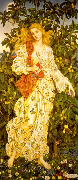 Evelyn de Morgan Flora