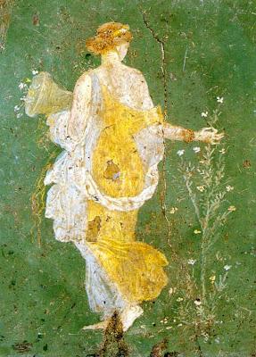 flora en Pompeya
