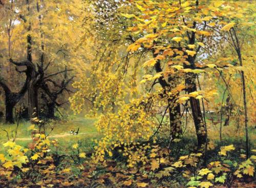 Otoño dorado, Ilya Ostroukhov (1888-1890).