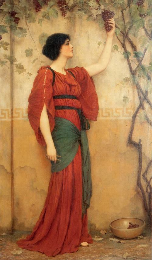 Otoño, John William Godward (1900)