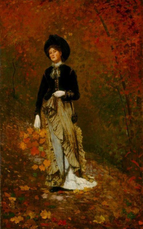 Otoño, Winslow Homer (1877)