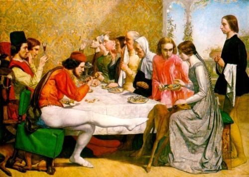Isabella (1849), una obra de John Everett Millais