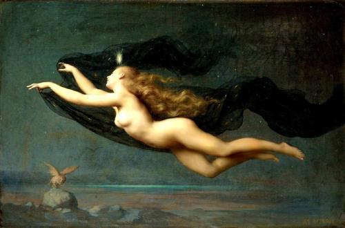 Auguste Raynaud (1854-1937) - La Nuit