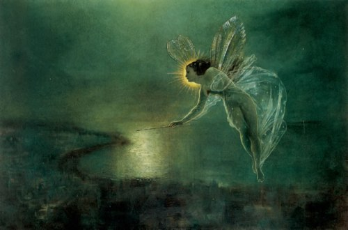John Atkinson Grimshaw (1836–1893) Spirit of the Night,1879