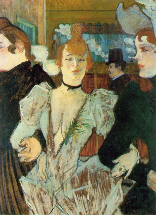 La Goulue arrivant au Moulin Rouge (1892)