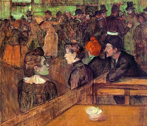 Moulin de la galette de Henri de Toulouse-Lautrec.